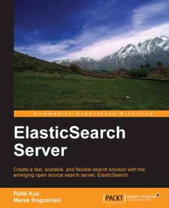ElasticSearch Server - book cover